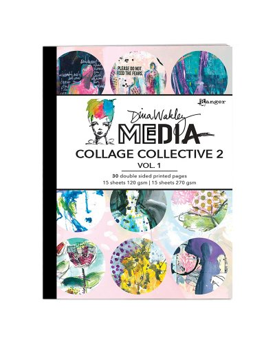 Libro impreso a doble cara Collage collective