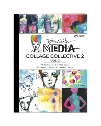Libro impreso a doble cara Collage collective 2 vol 1