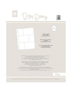 Fundas RitasDiary 9x12 A