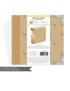 Carpeta 4x4 de project life dorado