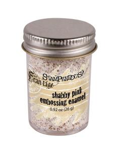 Polvo emboss Shabby white de Stampendous