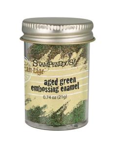 Polvo emboss Shabby green de Stampendous
