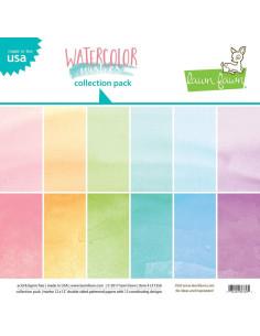 kit papel watercolor de Lawn fawn