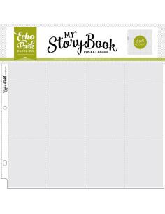 Pack fundas bolsillos 3x4'' stoorybook 12''