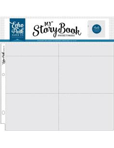 Pack fundas bolsillos 4x6'' stoorybook 12''