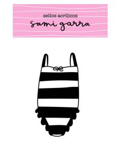 sello bañador a rayas de sami garra