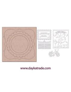 Álbum madera verja Dayka