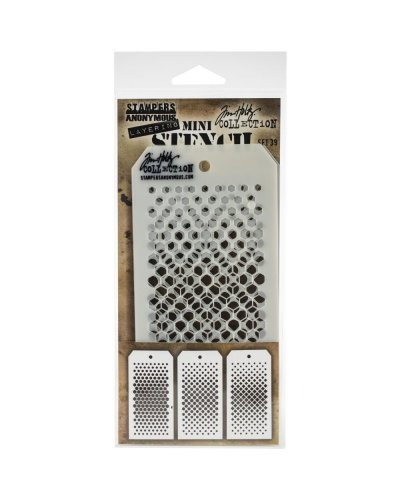 Set 38 mini plantillas de Tim Holtz
