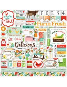 Kit Sólidos Farm to table de cartabella