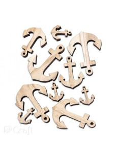 Figuras de madera Letras DP