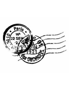 sello madera Sello Postal