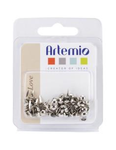 Encuadernadores 5mm plateados de Artemio