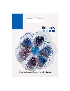 Encuadernadores tonos azules de Artemio