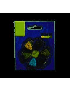 Encuadernadores tonos verde de Artemio