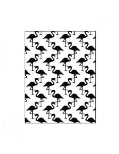 Carpeta emboss flamencos de Artemio