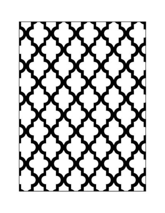Carpeta emboss oriental de Artemio