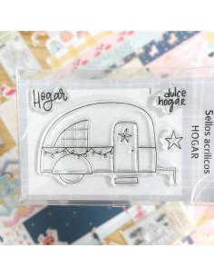 Sello Hogar Hoholand 7x5 de Iriri