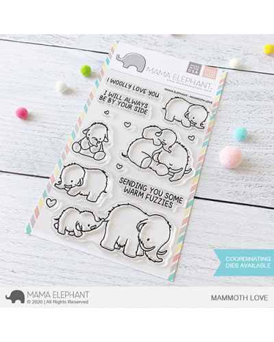 Mama Elephant sello Mammoth Love