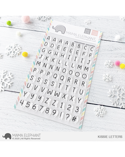 Mama Elephant sello Kissie Letters