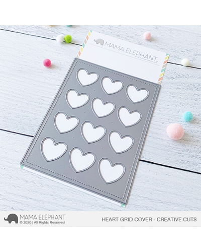 Troquel Heart Grid Cover de ME