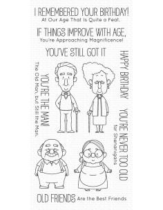 Sello Old friends de MFT