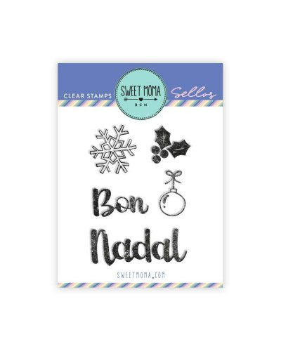 Sello Bon Nadal de Sweet Moma
