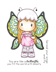 C.C. Designs sello Butterfly Swissie