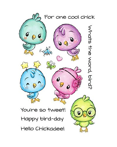 C.C. Designs sello Cute Birds