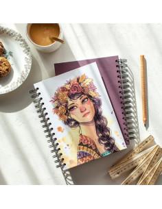 Cuaderno anillas Esther Gili , KURI