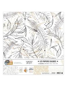 Kit papel vegetal Or Saison de Florilèges