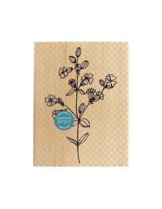 Sello madera Fleurs des champs de Florilèges