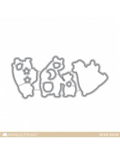 Mama Elephant Bear hugs dies