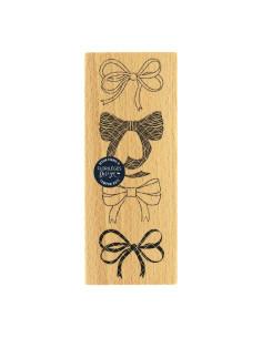 Sello madera Quatre noeuds de Florilèges