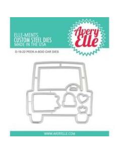 Troquel peek a boo Car de Avery Elle