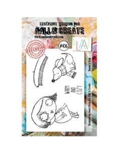 Sello Warm&Cosy de Aall&Create