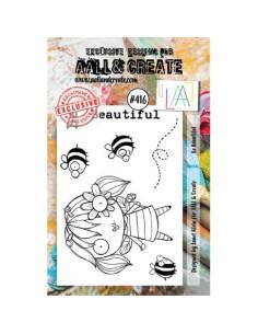 Sello Be Beautiful de Aall&Create