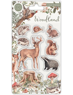 Sello Woodland Animals de CC