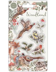 Sello Woodland Birds de CC
