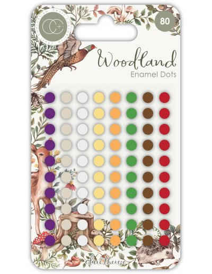 Enamel dots Woodland de CC
