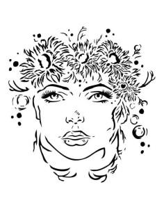 Máscara Summer girl de 13Arts