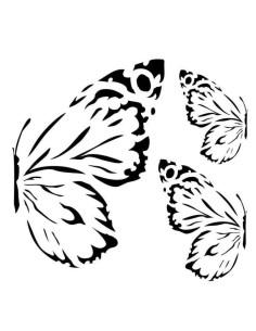 Máscara sunrise butterflies de 13Arts