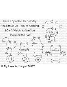 Sello Spectacular Birthday de MFT