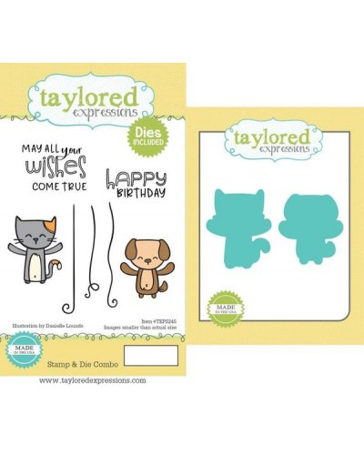 Sello+Troquel Yippee Critters de Taylored expressions