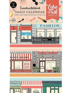 Set de 2 cuadernos de viaje Metropolitan Girl de Echo Park