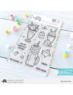 Sello Milkshake de Mama Elephant