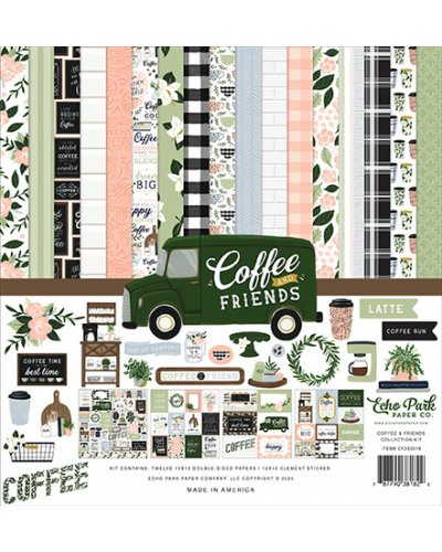 "Kit 12"" Coffee & Friends de Echo Park"