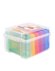 Caja almacenamiento con cajas interior de Vaessen
