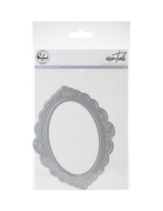 Troquel Ornate Oval Frame de PinkFresh