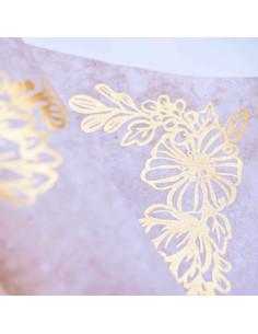 Tela Encuadernar Flores Foil de Johanna Rivero