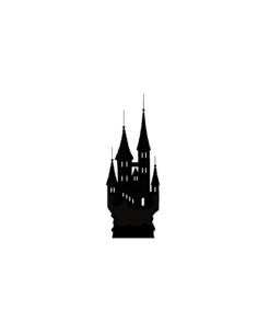 sello Castle Mini de lavinia stamps